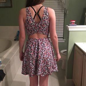 Floral Hollister Dress
